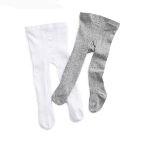 wazin - Solid Color Knitted Baby Stockings - Baby Stockings