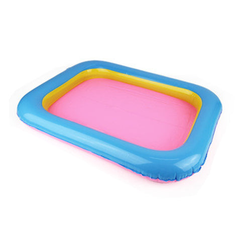 wazin - Indoor Magic Play Inflatable Sandbox Sand Tray Accessories Children Toys Mars Space Tray Accessories Plastic Mobile Table -