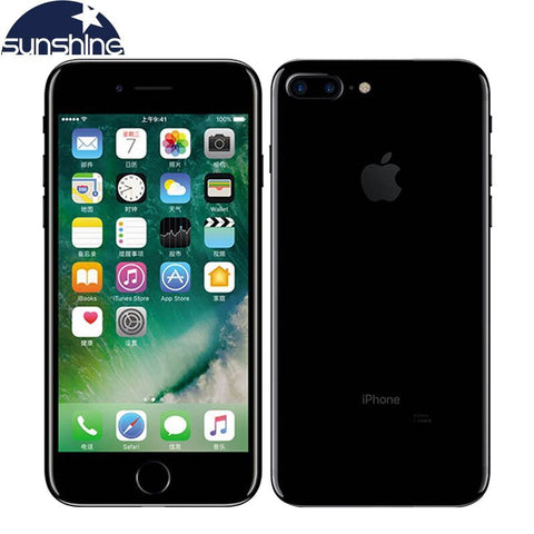 wazin - Unlocked Original Apple iPhone 7 / iPhone 7 Plus Quad-core Mobile phone 12.0MP camera 32G/128G/256G Rom IOS Fingerprint phone - Smartphone