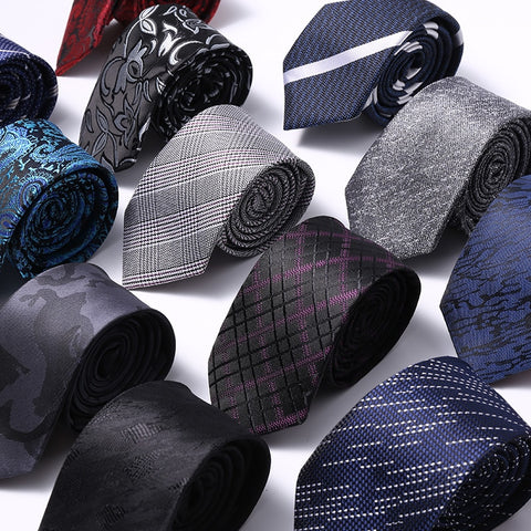 wazin - Designer Style Silk Neck Ties For Men -