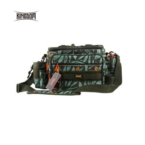 wazin - Kingdom fishing Waterproof Fishing Bag -