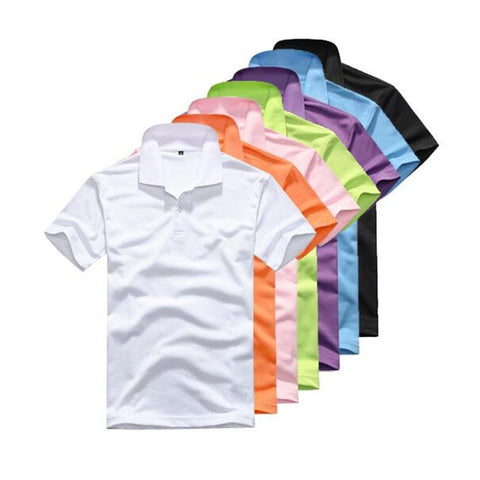 wazin - Men's Polo Shirt Casual Short Sleeve -
