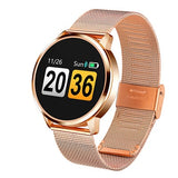 wazin - Women's Rose Color LED Screen Smartwatch -