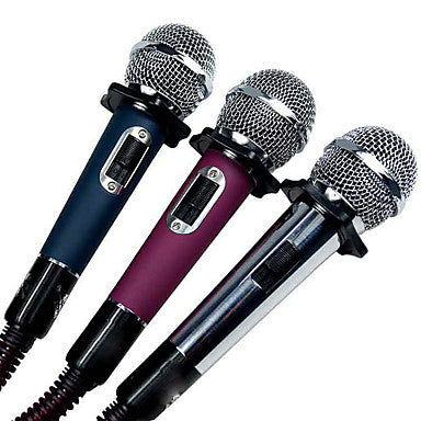 wazin - 6.3mm Microphone Wired Dynamic Microphone Handheld Microphone For Karaoke Microphone -