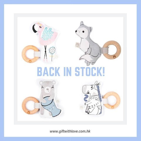 Baby Rattles back in stock