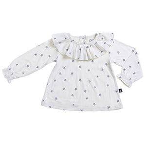 Starry Night Smock Lily White