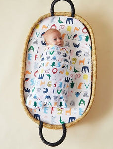 ABC of animals- Baby wrap