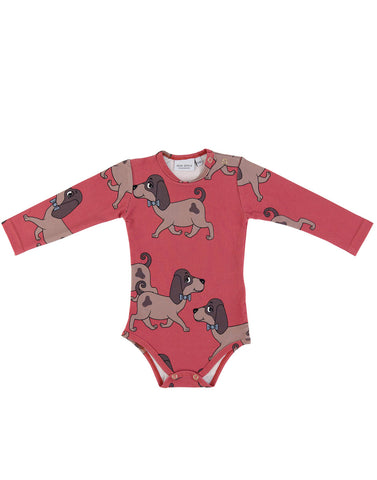 Doggie Red Bodysuit