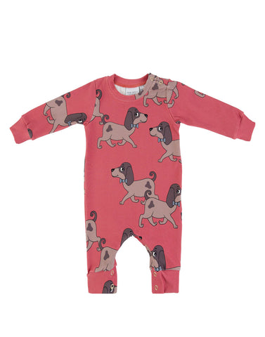 Doggie Red Romper