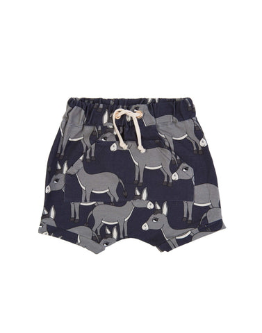 Donkey Navy Shorts