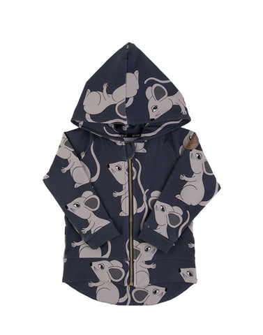 Mouse Navy Hoodie