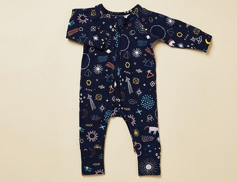 Long sleeve zip suit (Milky way)