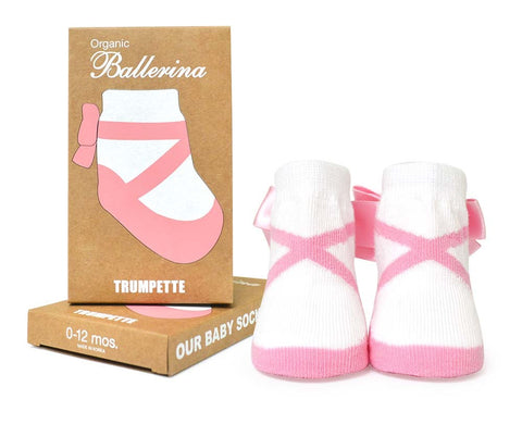 Organic Cotton Ballerina Socks, 1 Pack