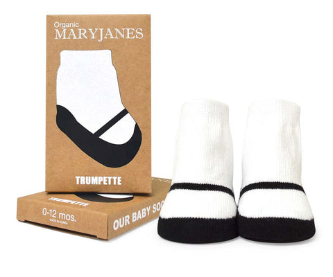 Organic Cotton Maryjanes Socks, 1 Pack