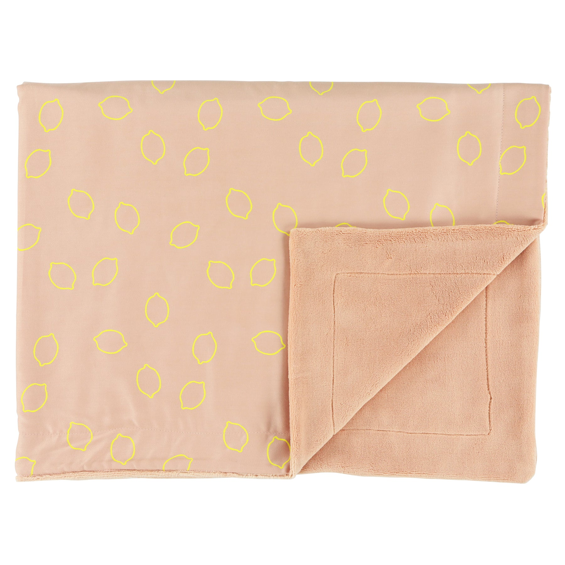 Fleece blanket Lemon Squash (75 x 100cm)