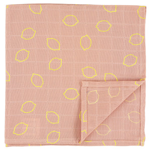 Muslin cloths | 60 x 60 - Lemon Squash - set of 3 pieces