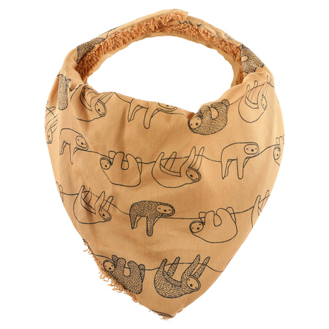 Bandana bib - Silly Sloth