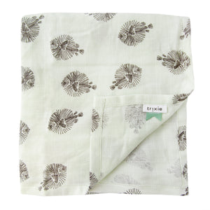 Muslin cloths - Blowfish (120 x 120 cm) - set of 2 pieces