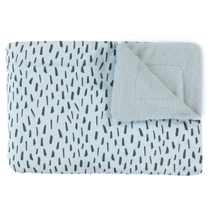 Fleece blanket - Blue Meadow (75 x 100 cm)