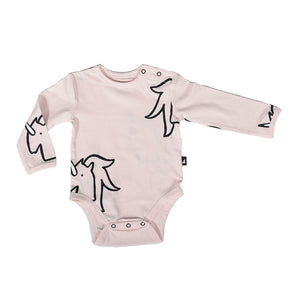 Organic Unicorn Long sleeves Bodysuit