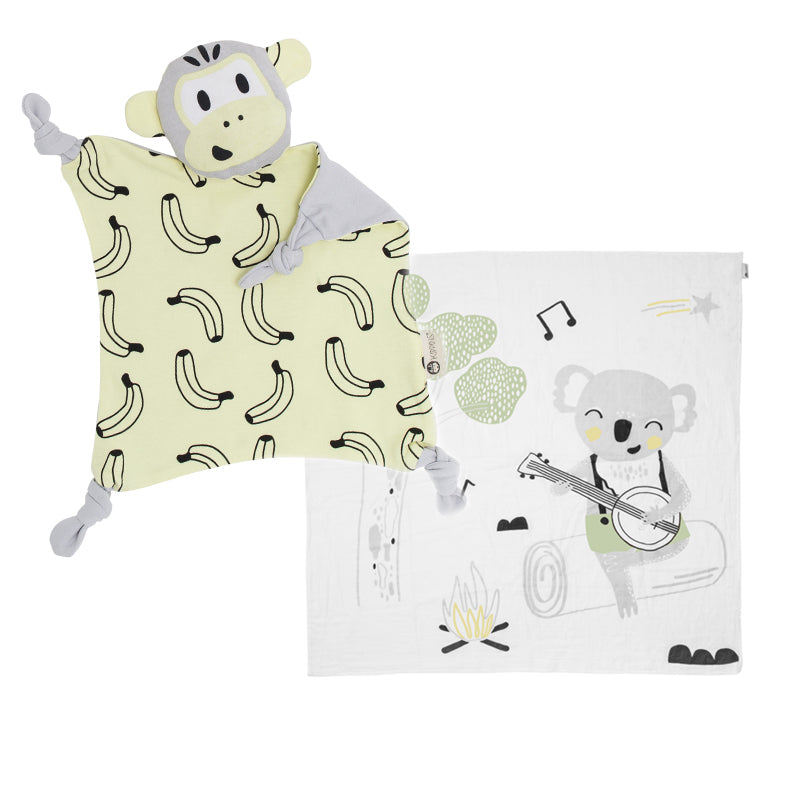 Customize Gift Set (Blankie + Muslin Wrap)