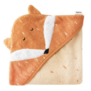 Hooded towel Mr. Fox (75x75cm)