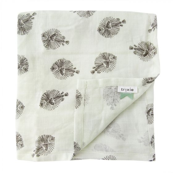 Muslin cloths - Blowfish (60 x 60 cm)- set of 3 pieces