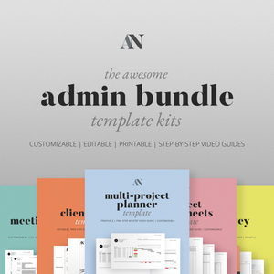 The Awesome Admin Bundle - [product_description] - Audrey Noakes Shop
