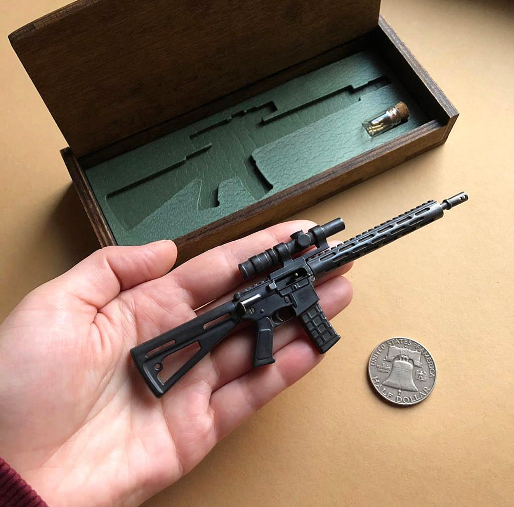 Miniature AR Replica