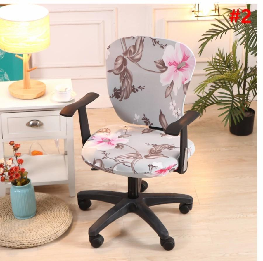 Decorative Computer Office Chair Cover(buy 4 Free Sgipping