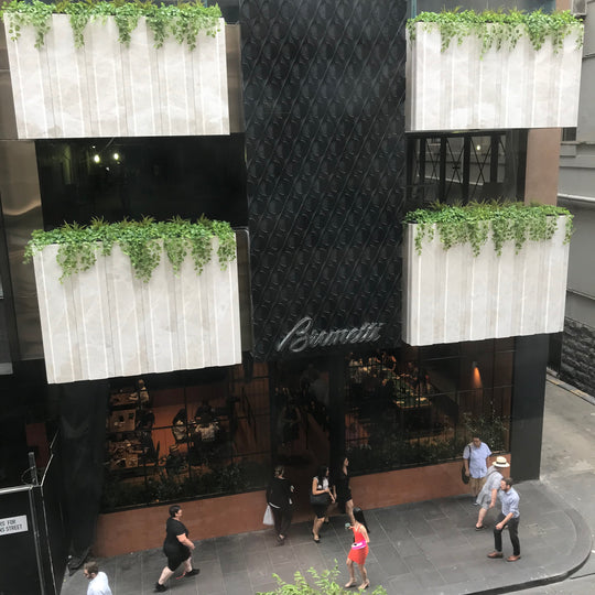 Brunetti Planter Boxes - Flinders Lane