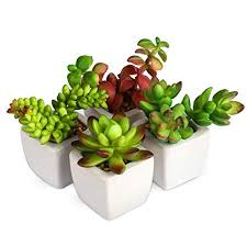 office decor artificial plants