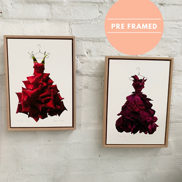 Aus Wide Gift Delivery | Framed Floral Prints