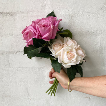 Artificial Rose Bunches - Real Touch