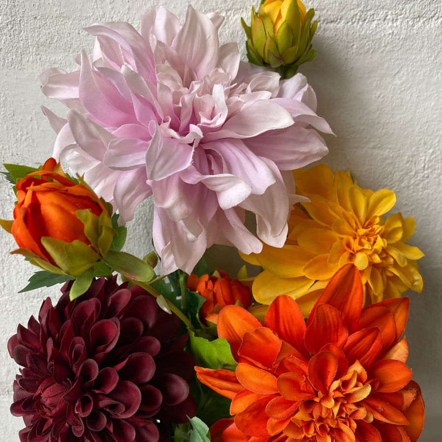 Dahlias (Artificial)
