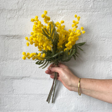 Artificial Wattle - Short Bunch