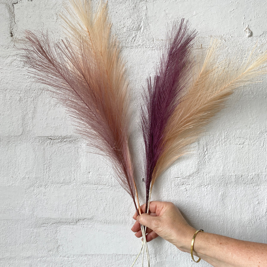 Artificial Pampas Grass (Multiple Colours)