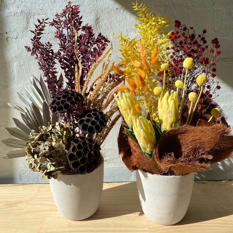 Aus Wide Gift Delivery | Dried + Faux Florals Arrangement