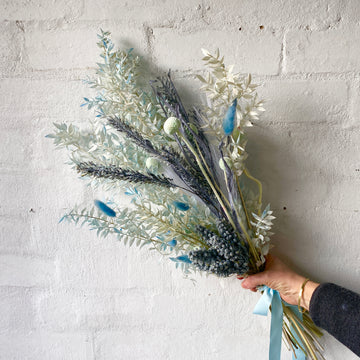 Blue Hues Posy (Dried/ Preserved/ Artificial)