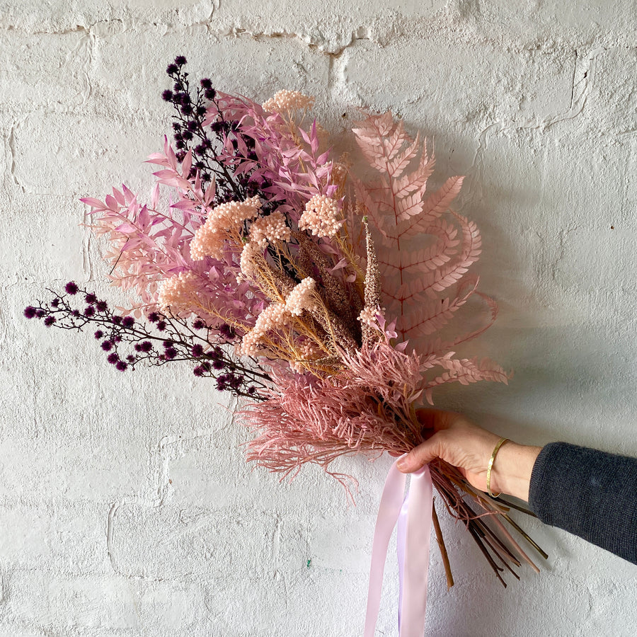 Pink Hues Posy (Dried/ Preserved/ Artificial)