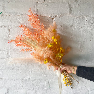 Apricot Hues Posy (Dried/ Preserved/ Artificial)
