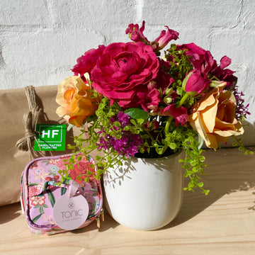 Aus Wide Gift Delivery | Faux Florals + Jewellery Case