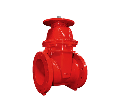 "6"" Gate Valve Resilient Seated-200PSI-NRS Type-UL/FM"