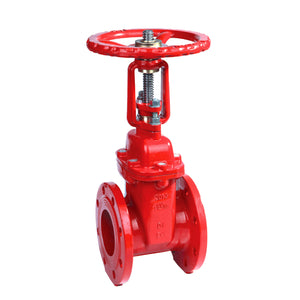 "2-1/2"" Gate Valve Resilient Seated-200PSI-OS&Y Type-UL/FM"