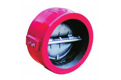 "4"" Double Door Check Valve Wafer Type - 175 PSI -UL"