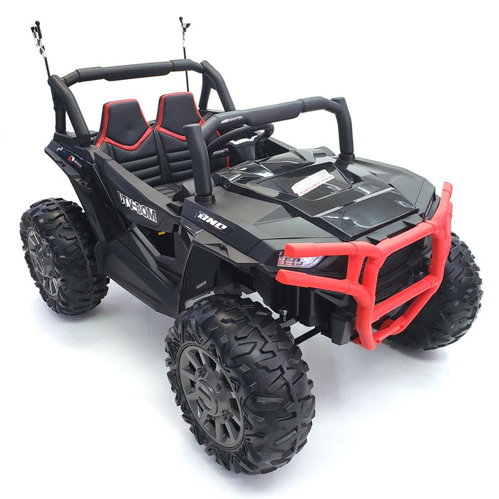 kids electric car - Ride On Car Buggy-BJC999-24V-black 2 Seats*2 -200 Watts Motors*24 Volts*3 Speed