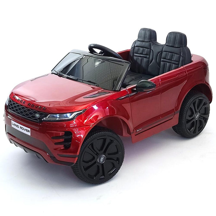 Electric Range Rover Evoque DK-RR99Red 12 Volt Ride On Car Rubber Wheels 1- Leather Seat 3 Speed