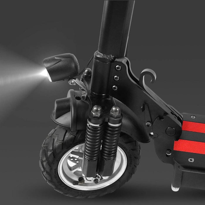 Electric  Scooter EZ12 Pro Powerful 1200 Watts Two Motors Air Tires Spring Shock Absorption