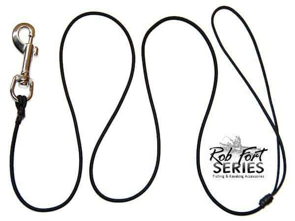 Rod/Paddle Leash Bungee Swivel Clip | Rob Fort Series