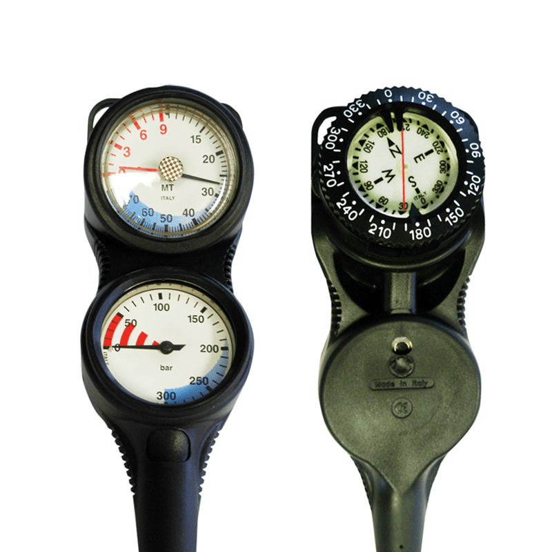 Atlantis ICON SG1 -Triple Gauge with Compass